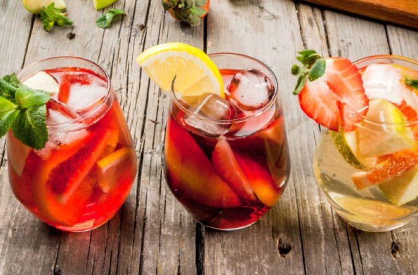 Receita refrescante de drinque para o verão