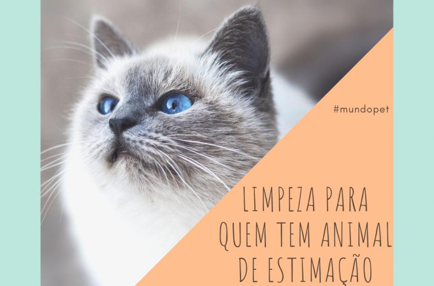 Mundo Pet: dicas de limpeza para quem tem animal de estimação
