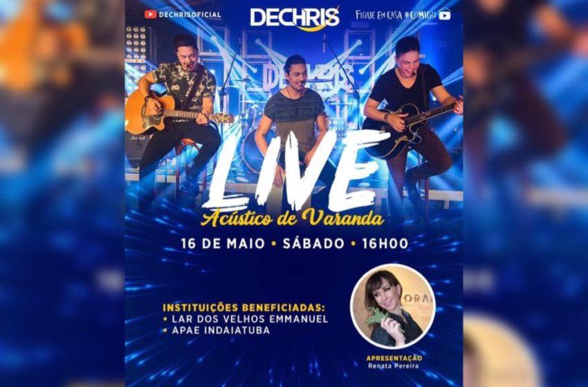Live ACÚSTICO DE VARANDA acontece no próximo dia 16