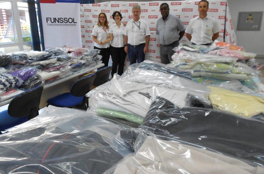 Funssol fará distribuição de agasalhos e cobertores a partir do dia 26 de maio