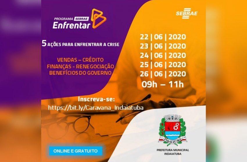 Começa hoje (22) programa Sebrae Enfrentar destinado à empresas