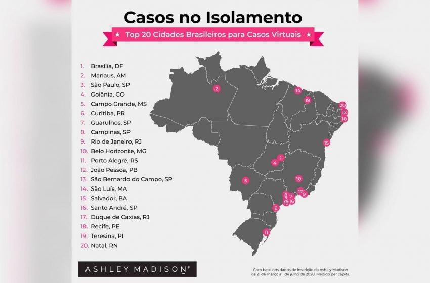 São Paulo tem 5 cidades nas TOP 20 com mais adúlteros durante a pandemia